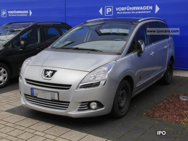 2012 peugeot allure 5008 hdi fap 150 esp climate car photo and specs. Black Bedroom Furniture Sets. Home Design Ideas