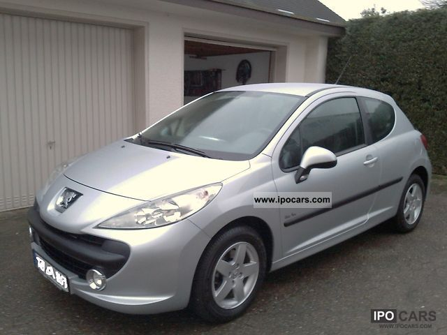 2008 peugeot 207 95 vti special edition urban move car photo and specs. Black Bedroom Furniture Sets. Home Design Ideas