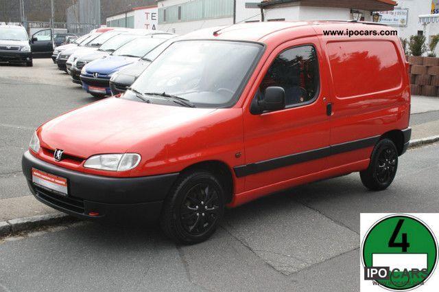1998 Peugeot  Partners 1.1 C ORIG.NUR 105.oooKM / 1.HAND / EURO 2 Van / Minibus Used vehicle photo