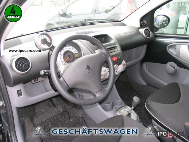 2012 peugeot filou 107 70 2-tronic air - car photo and specs