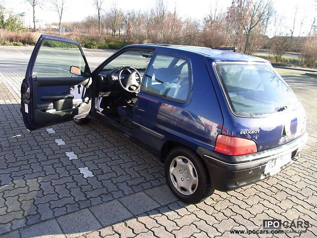 1998 Peugeot 106 Car Photo And Specs border=