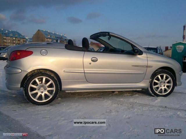 2005 peugeot 206 cc 1 6 hdi quiksilver zim wki car photo and specs. Black Bedroom Furniture Sets. Home Design Ideas