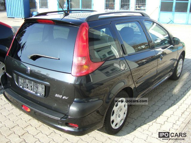 2005 peugeot 206 sw hdi eco 70 grand filou cool car photo and specs. Black Bedroom Furniture Sets. Home Design Ideas