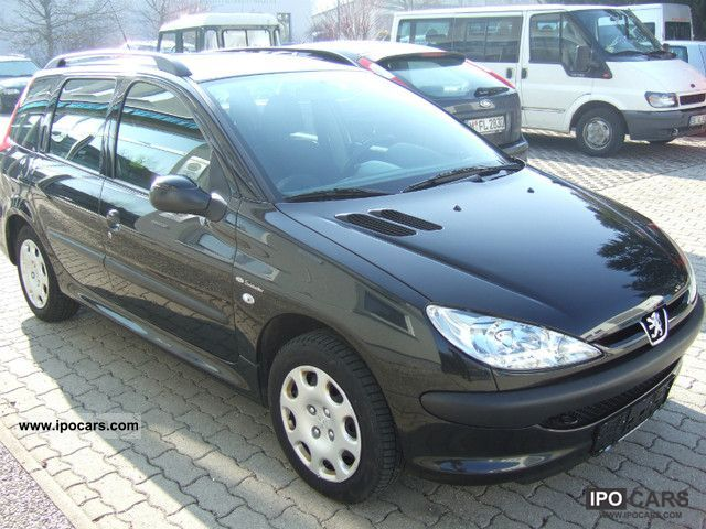 2005 peugeot 206 sw hdi eco 70 grand filou cool car. Black Bedroom Furniture Sets. Home Design Ideas