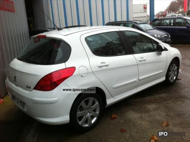 2008 peugeot 308 1 6 hdi 110 fap premium 5p car photo and specs. Black Bedroom Furniture Sets. Home Design Ideas