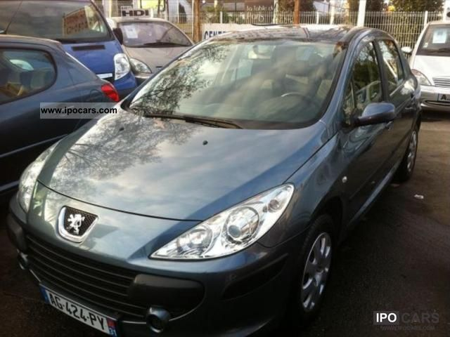 2006 peugeot 307 1 6 hdi 16v 90 confort 5p car photo and specs. Black Bedroom Furniture Sets. Home Design Ideas