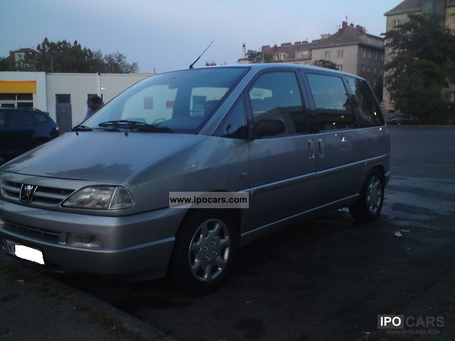 2000 Peugeot  806 ST HDi Van / Minibus Used vehicle photo