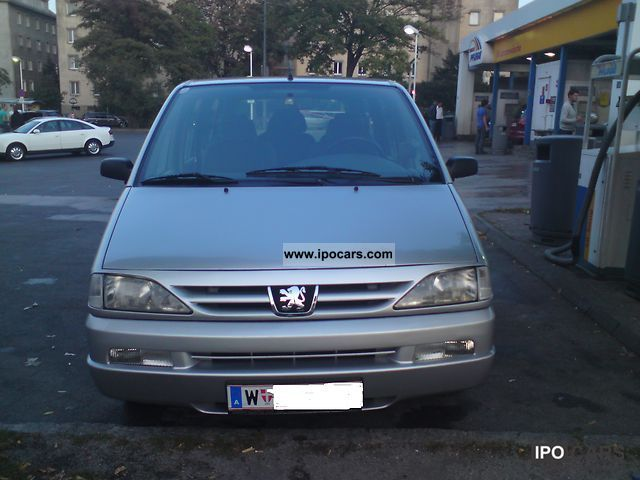 2000 peugeot 806 st hdi car photo and specs. Black Bedroom Furniture Sets. Home Design Ideas