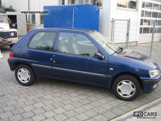 1999 Peugeot 106 Special Car Photo And Specs border=