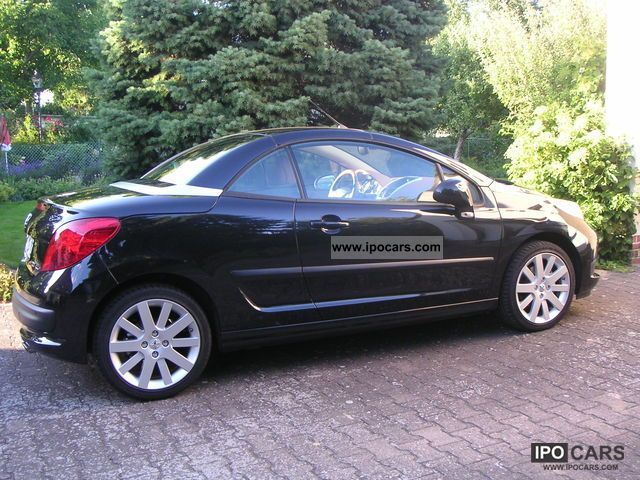 2008 peugeot 207 cc 150 thp platinum car photo and specs. Black Bedroom Furniture Sets. Home Design Ideas