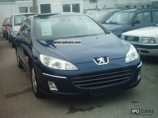2008 peugeot 407 hdi 110 tendance klimaautomatic 4 car photo and specs. Black Bedroom Furniture Sets. Home Design Ideas