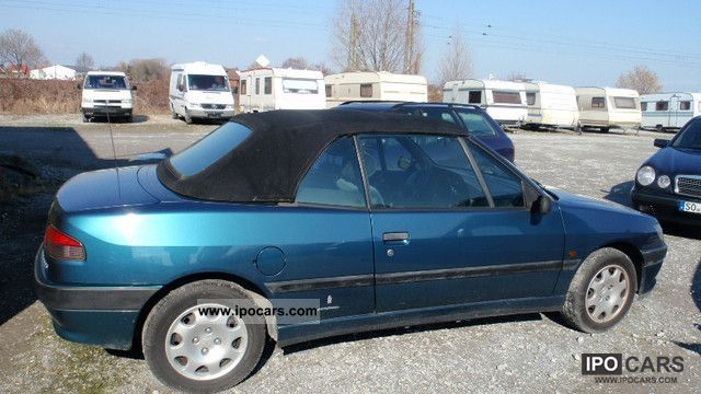 1997 peugeot 306 cabriolet 1 6 car photo and specs. Black Bedroom Furniture Sets. Home Design Ideas