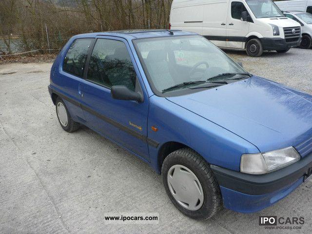 1995 Peugeot Cars