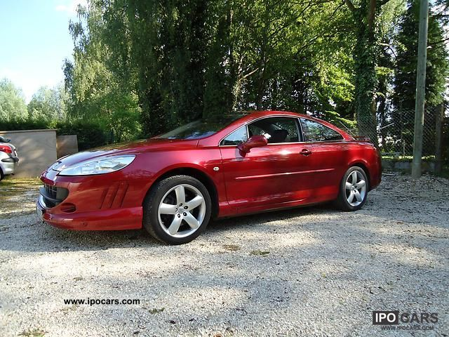 2006 peugeot 407 coupe v6 210 platinum car photo and specs. Black Bedroom Furniture Sets. Home Design Ideas