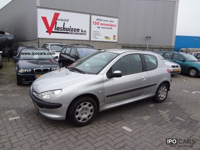 2005 peugeot 206 1 4 hdi x line car photo and specs. Black Bedroom Furniture Sets. Home Design Ideas