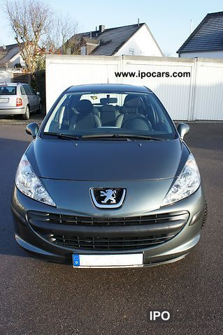 2008 peugeot 207 75 tendance car photo and specs. Black Bedroom Furniture Sets. Home Design Ideas