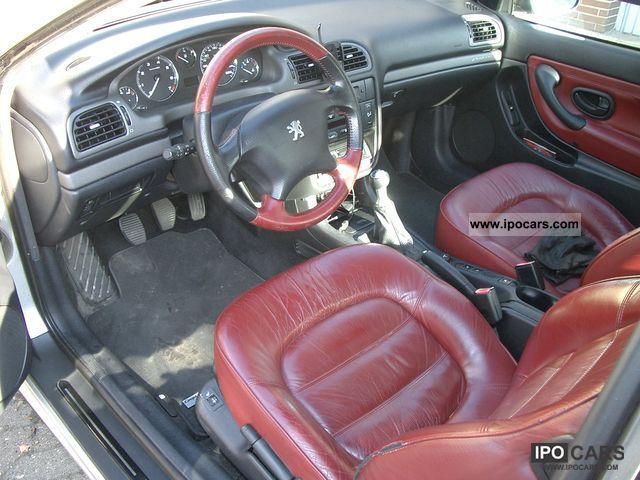 2001 Peugeot 406 Coupe 20 16v Platinum Car Photo And Specs