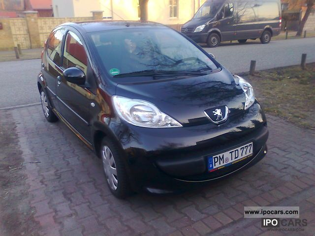 2007 peugeot 107 70 petit filou car photo and specs. Black Bedroom Furniture Sets. Home Design Ideas