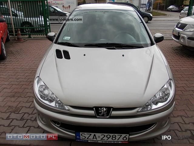 2007 peugeot 206 1 4 hdi car photo and specs. Black Bedroom Furniture Sets. Home Design Ideas
