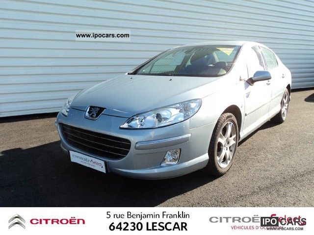 2007 peugeot 407 2 0 hdi136 navteq fap car photo and specs. Black Bedroom Furniture Sets. Home Design Ideas