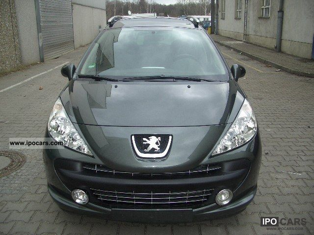 2009 peugeot 207 sw 95 vti tendance car photo and specs. Black Bedroom Furniture Sets. Home Design Ideas