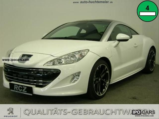 2011 peugeot rcz 1 6 thp 200 base car photo and specs. Black Bedroom Furniture Sets. Home Design Ideas