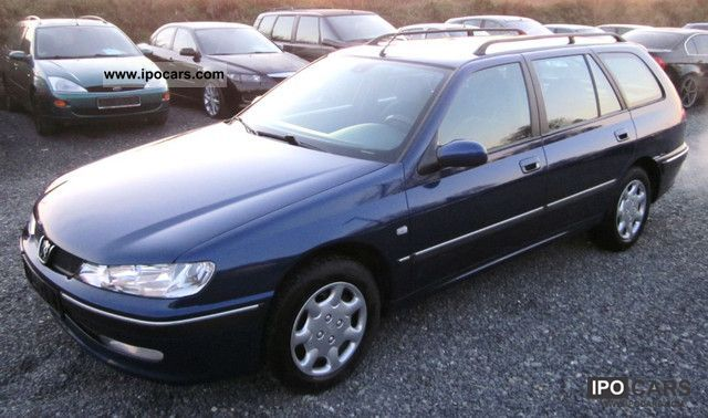 2000 peugeot 406 break premium t v au newly car photo and specs. Black Bedroom Furniture Sets. Home Design Ideas