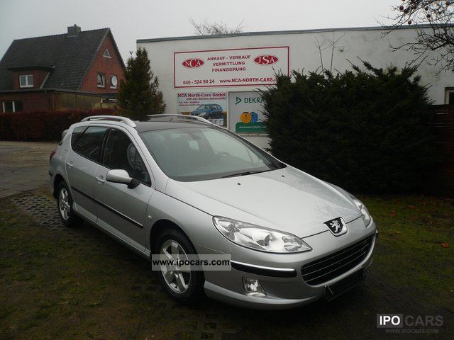 2006 Peugeot  407 SW 1.6 HDI Fap DPF 110 panoramic roof air Estate Car Used vehicle photo