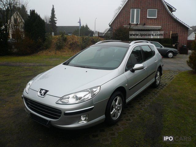 2006 peugeot 407 sw 1 6 hdi fap dpf 110 panoramic roof air. Black Bedroom Furniture Sets. Home Design Ideas