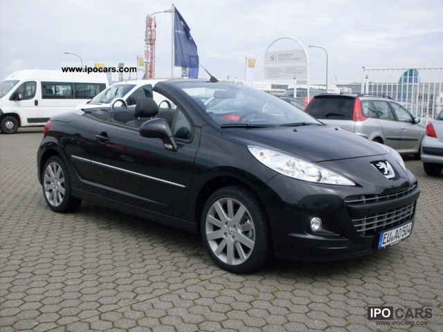 2011 peugeot 207 cc 120 vti platinum car photo and specs. Black Bedroom Furniture Sets. Home Design Ideas