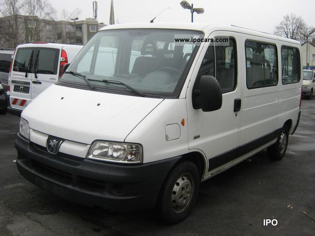 ff2c29fd7c 2004 Peugeot Boxer HDi 330 MH 9 seater 1.Hand EURO 3 - Car Photo and ...