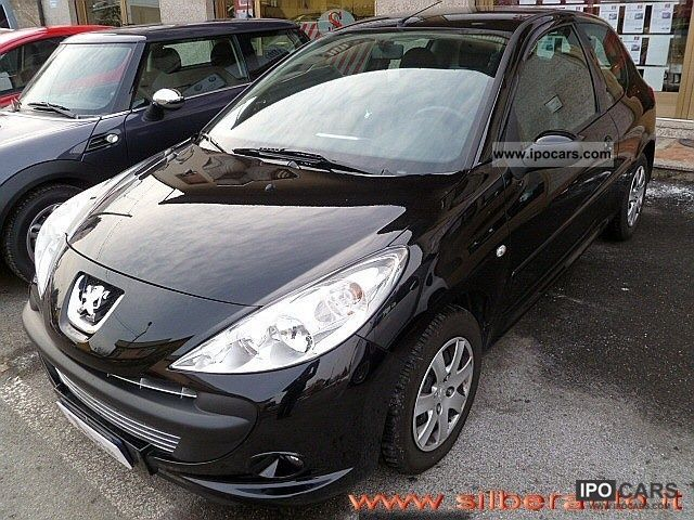 2010 peugeot 206 plus 1 1 60cv 3p trendy car photo and specs. Black Bedroom Furniture Sets. Home Design Ideas