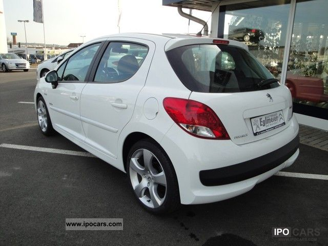2011 peugeot 207 95 vti urban move sport conversion car photo and specs. Black Bedroom Furniture Sets. Home Design Ideas