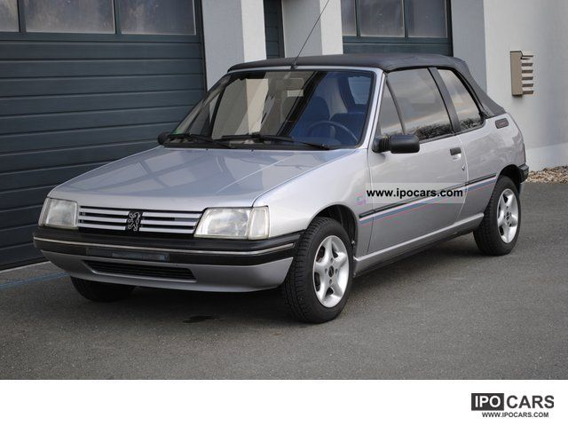 1993 Peugeot  205 CJ convertible orig. First 90,683 kilometers Hand! Cabrio / roadster Used vehicle photo