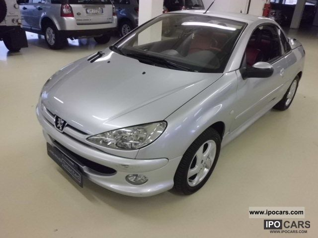 2004 peugeot 206 1 6 16v cc car photo and specs. Black Bedroom Furniture Sets. Home Design Ideas