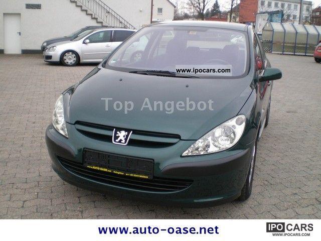 2001 Peugeot  307 110 Premium 2.Hand climate Tüv 05-2013 Limousine Used vehicle photo