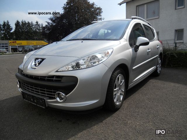 2008 peugeot 207 sw hdi fap 110 black lion sports car photo and specs. Black Bedroom Furniture Sets. Home Design Ideas