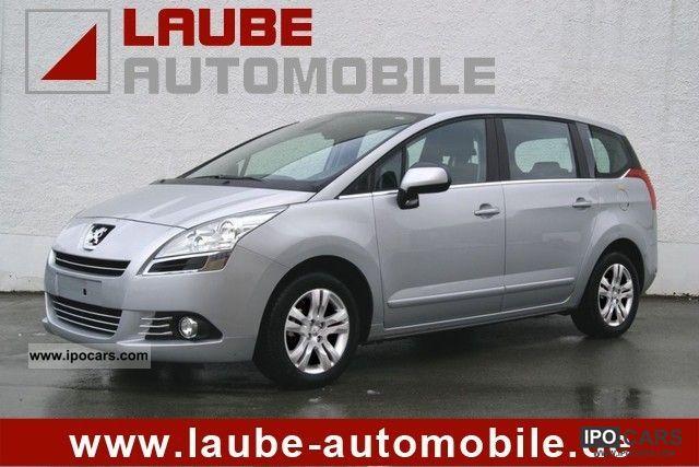 2011 Peugeot 5008 20 HDI FAP PLATINIUM Panoramic Roof Wip Nav
