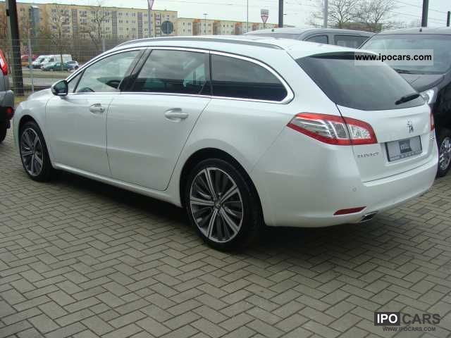 2011 peugeot sw 508 sw hdi 205 gt auto car photo and specs. Black Bedroom Furniture Sets. Home Design Ideas