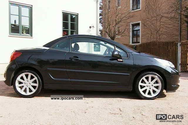 2008 peugeot 207 cc roland garros special edition accident top car photo and specs. Black Bedroom Furniture Sets. Home Design Ideas
