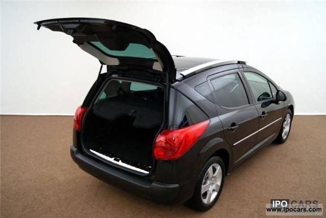 dimensions peugeot 207 sw estate images. Black Bedroom Furniture Sets. Home Design Ideas