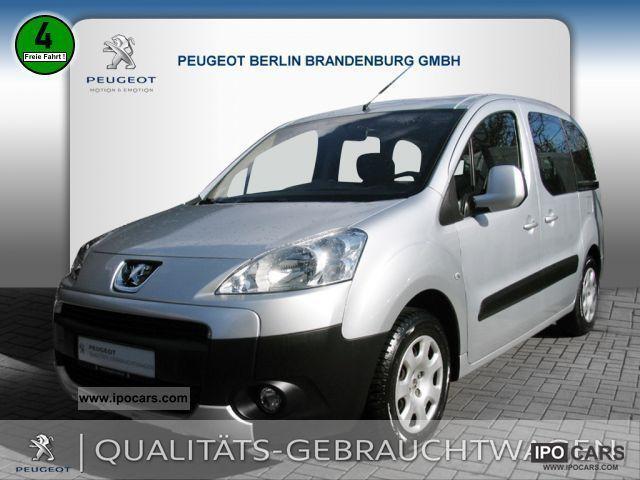 2009 Peugeot  Partner Tepee Tendance 110 AIR Estate Car Used vehicle photo