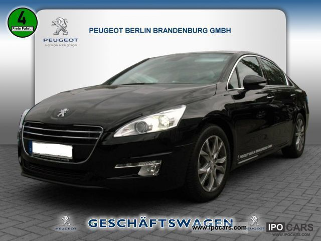 2011 peugeot allure 508 hdi fap 140 navigation car photo and specs. Black Bedroom Furniture Sets. Home Design Ideas