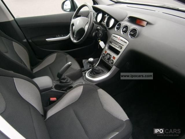 2008 peugeot 308 1 6 hdi110 premium pack fap 5p car photo and specs. Black Bedroom Furniture Sets. Home Design Ideas