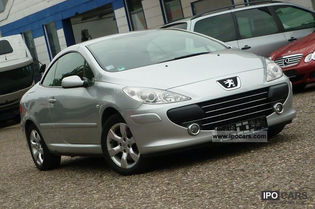 2006 Peugeot 307 Cc Hdi Fap 135 Tendance Climate Control Alufe Car Photo And Specs