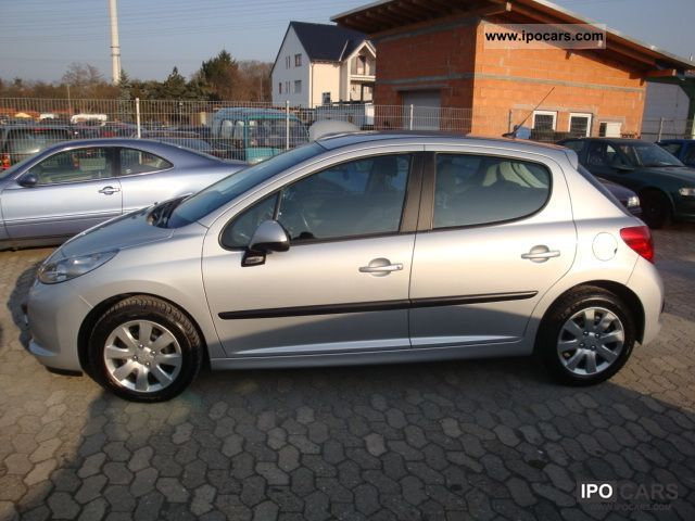 2009 peugeot 207 90 hdi fap blue lion air nett 5900 car photo and specs. Black Bedroom Furniture Sets. Home Design Ideas