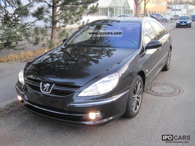 2006 peugeot 607 2 7 hdi fap platinum leather xenon 1 hand car photo and specs. Black Bedroom Furniture Sets. Home Design Ideas