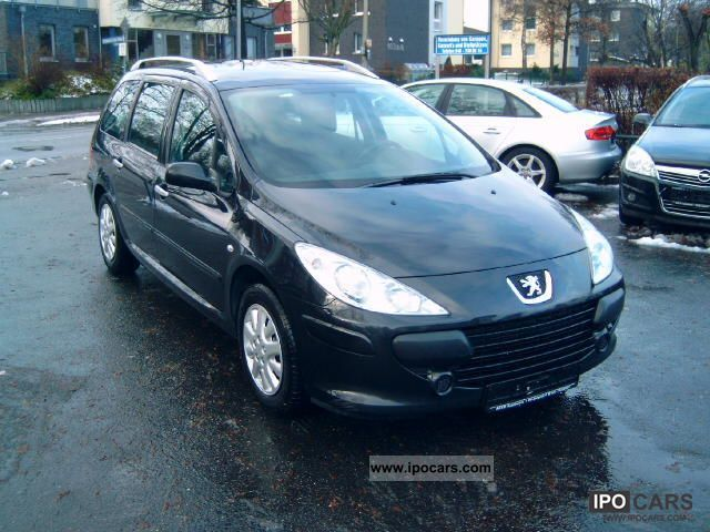 2006 peugeot 307 1 6 hdi 110 sw grand filou cool ahk car photo and specs. Black Bedroom Furniture Sets. Home Design Ideas