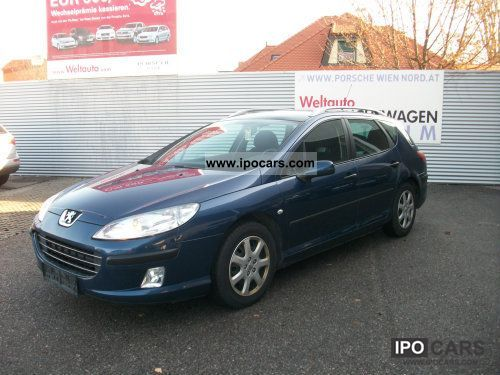 2006 Peugeot  407 SW 1.6 HDi 110 Classic Limousine Used vehicle photo