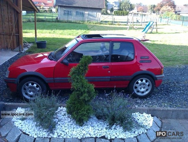 1988 Peugeot  205 GTI Small Car Used vehicle photo